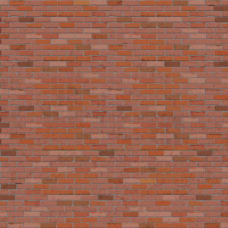 Old red brick wall background frame for your text or image. Realistic performance. Çizim