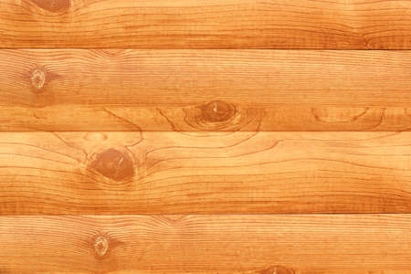 Wall of log cabin. Color image close-up