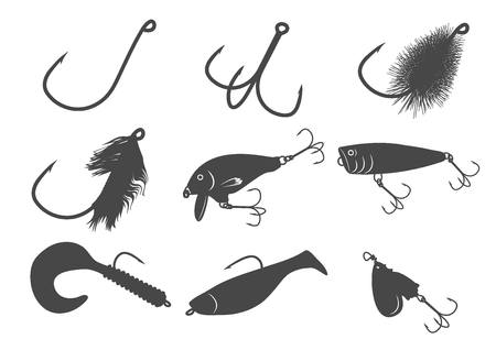 popper: 9 fishing baits icons