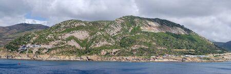 Tanger Med, Morocco - July 03: Landscape in summer of Tanger Med on July 03, 2017  in Tanger Med, Morocco.