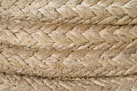 Parts of the mooring rope