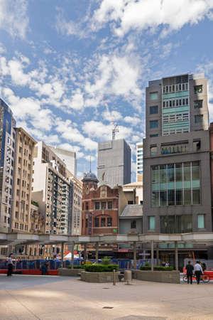 Sydney, Australia - January 9: Cityscape of Sydney on January 9, 2019 in Sydney, Australia. Editöryel