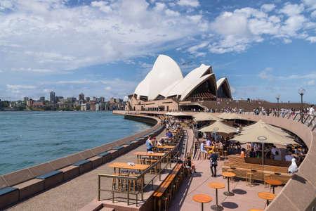 Sydney, Australia - January 9: Sydney Opera House on January 9, 2019 in Sydney, Australia. Editöryel
