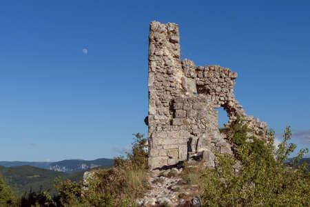 Medieval town Mangup Kale ruins