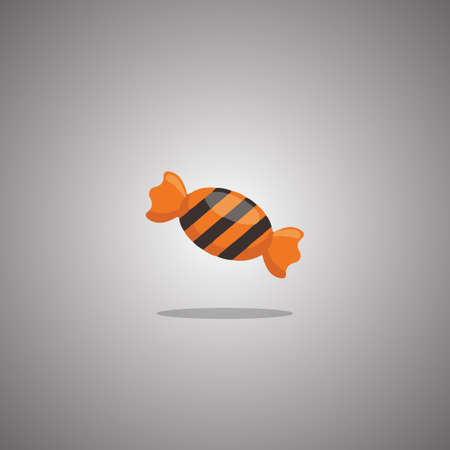 Sweet for Halloween. Vector illustration. Isolated white background.