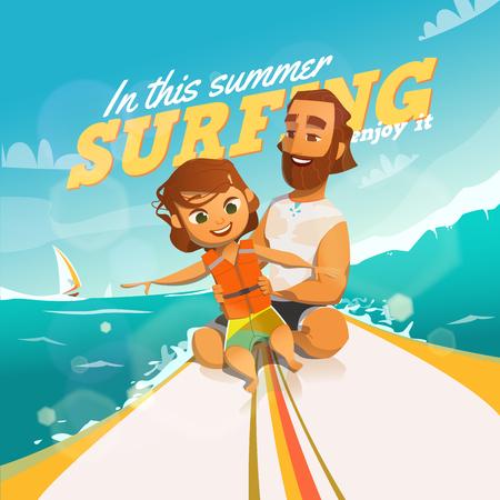 Surfingn this summer.