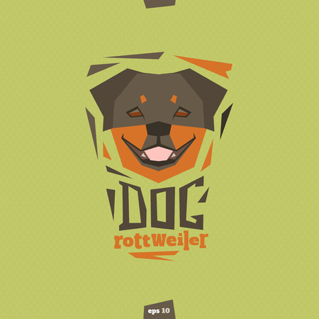 711 Rottweiler Cliparts, Stock Vector And Royalty Free Rottweiler ...