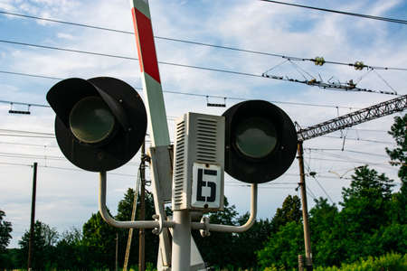 Traffic lights on the rail road