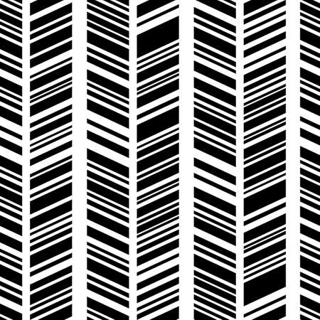 ethno: Seamless black and white pattern. Modern boho style, ethnic, geometric. Pattern for clothes, wrapping, background. Vector.