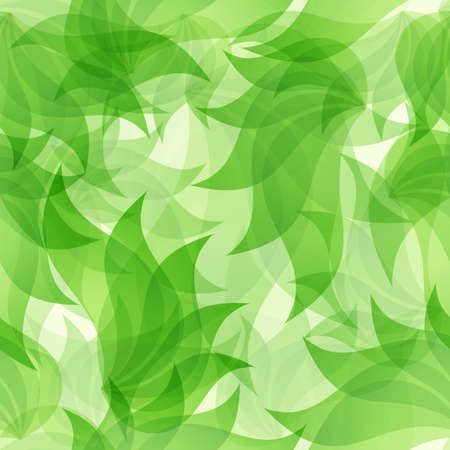 nature vector: Green floral seamless pattern, texture, abstract, nature,. Vector Illustration