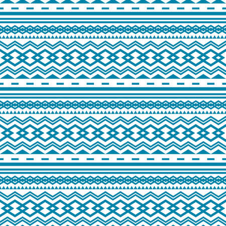 mexican background: Seamless geometric pattern with ethnic elements , ornamental style. Illustration