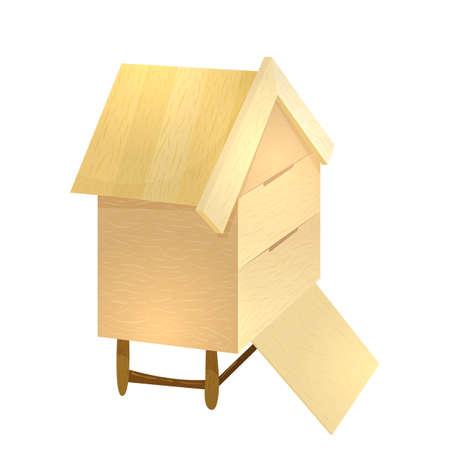 beekeeper: Honey apiary beehive Illustration