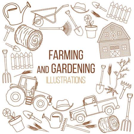 tillage: Farming agricultural instruments