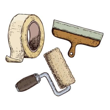 Repair tool accessories.