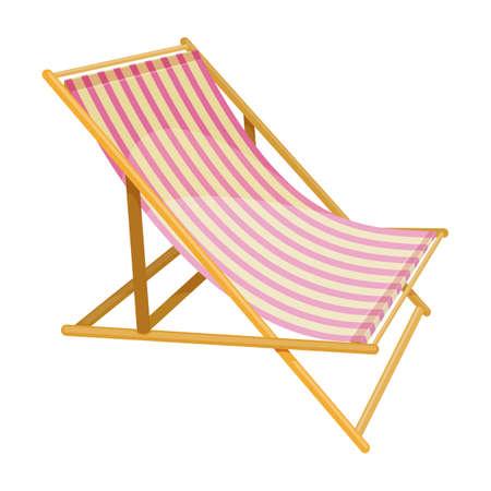 Beach summer holidays Illustration
