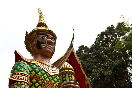 Antique Thai giant, Hat-Yai Thailand photo