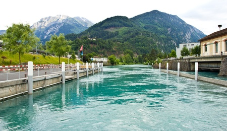 Interlaken Lake, Interlaken, Switzerland photo