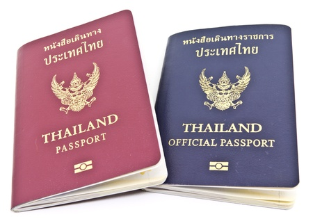Thailand Passport and Thailand official passport  photo