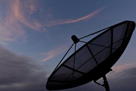 antena parabolica: Antena parab?a  Foto de archivo