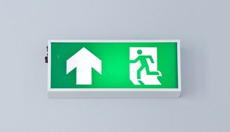 Fire exit photo