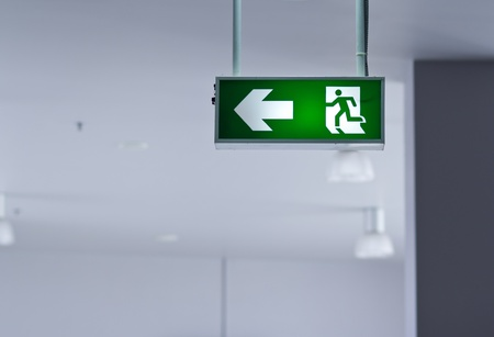 emergency exit: Fire exit