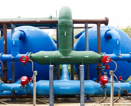 waterleiding: Waterwerken motor