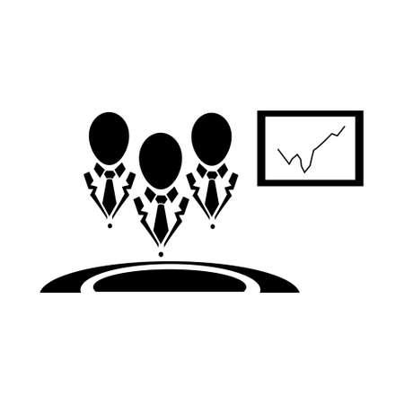 centre d affaires: business center icon