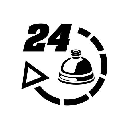 24: 24 hour service hotel