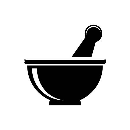mortar and pestle: Mortar and Pestle icon.
