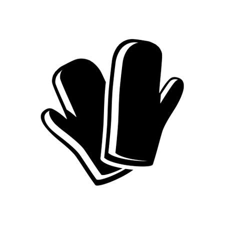 gloves: cooking gloves icon