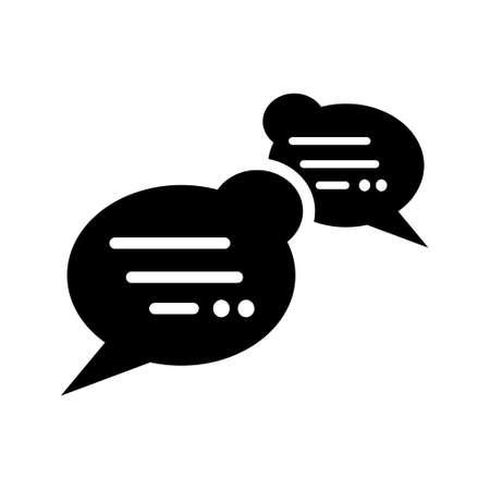 chat bubble icon: chat bubble   icon Illustration
