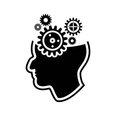 a thinker: thinker   icon Illustration