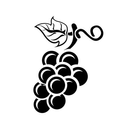Raisins icône Banque d'images - 45754852