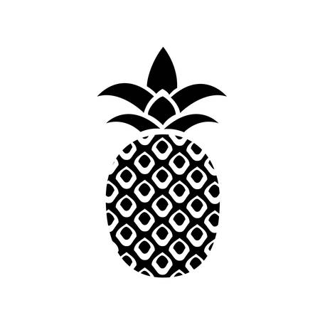 Ananas icône Banque d'images - 45755080