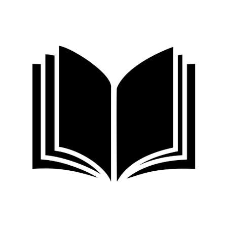 open book icon: book icon Illustration