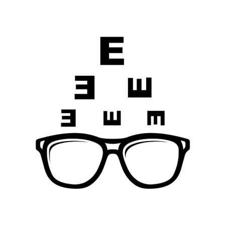 Optometry Symbol Standard-Bild - 45755225
