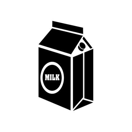 carton de leche: icono de cart�n de leche