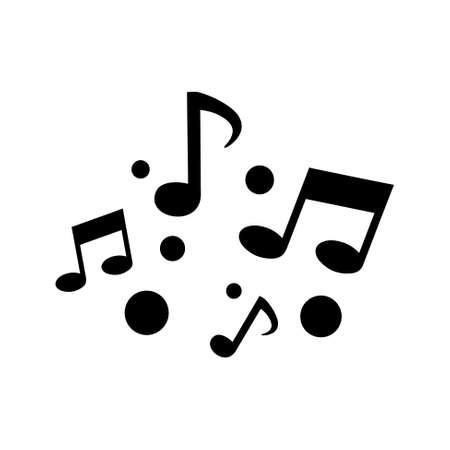 quaver: music note icon
