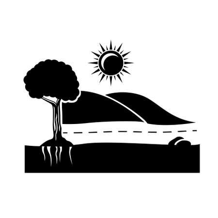 solarpower: environment icon.