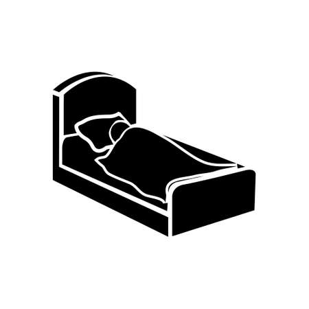 gente durmiendo: icono del sueño Vectores