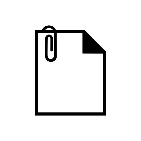 attached: attached file icon Illustration