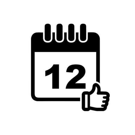 calendar icon: calendar approved date icon