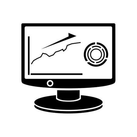 computer graph: computer graph  icon