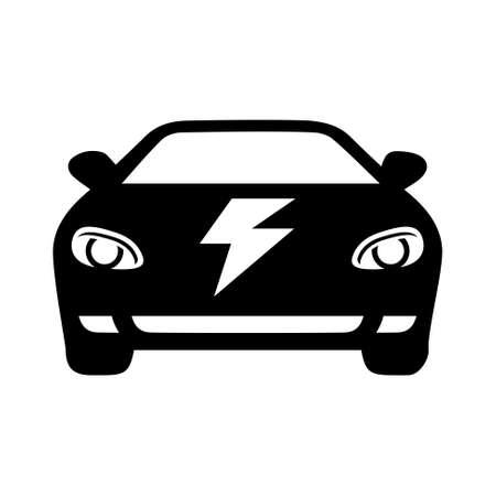 electric car icon 일러스트