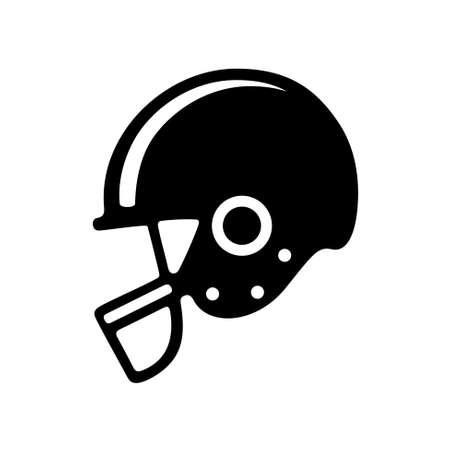 américain icône de casque de football.