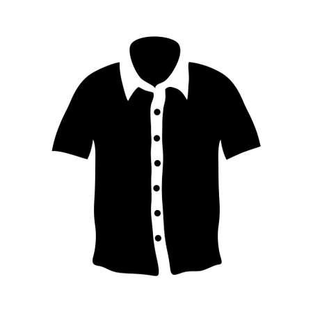 chemise: men chemise icon