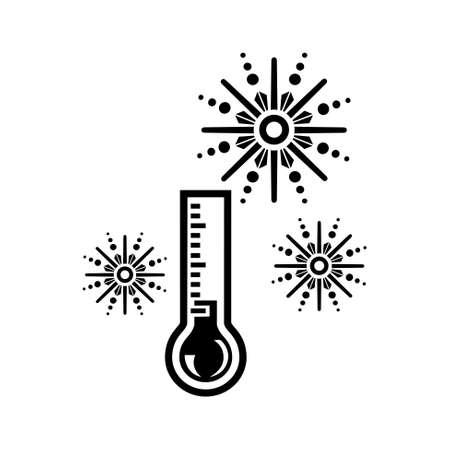temp: Cold Day icon Illustration