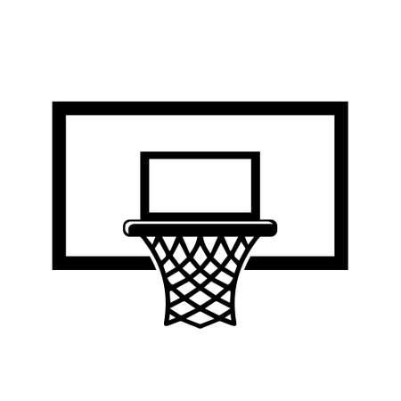 sports jersey: basketball basket icon