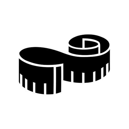measure: measuring tape  icon
