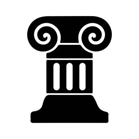 colonna romana: Icona colonna romana Vettoriali